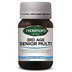 THOMPSONS 3rd Age Senior Multi 30 tabs
