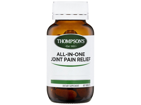 Thompson's All-in-One Joint Pain Relief 60 tabs
