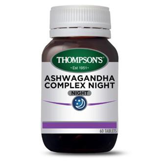THOMPSONS Ashwagandha Complex Night 60tab