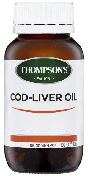Thompson's Cod Liver Oil 100 caps