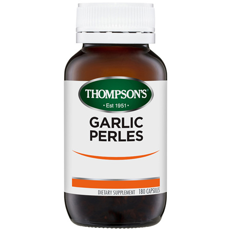 Thompson's Garlic Perles 180 caps