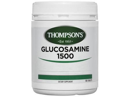 Thompson's Glucosamine 1500 180 tabs