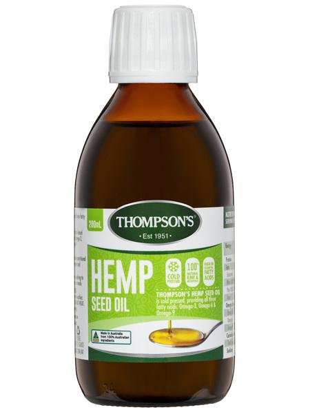 Thompson's Hemp Oil 200ml