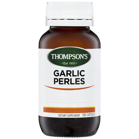 THOMPSONS Herb Garlic Perles 180caps