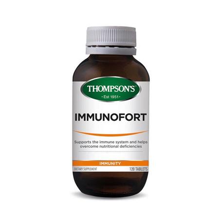 THOMPSONS Immunofort 120tabs