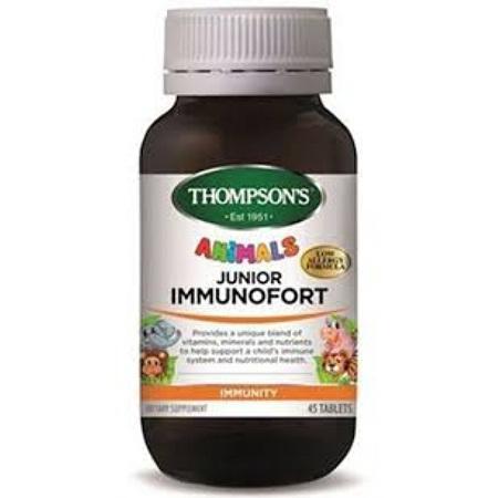 Thompson's Junior Immunofort 45 tablets