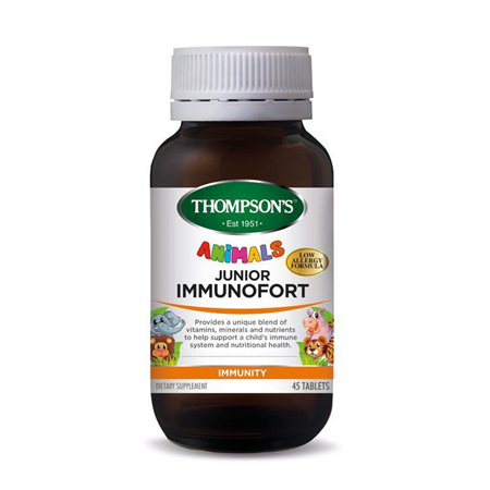 THOMPSONS Junior Immunofort 45tabs