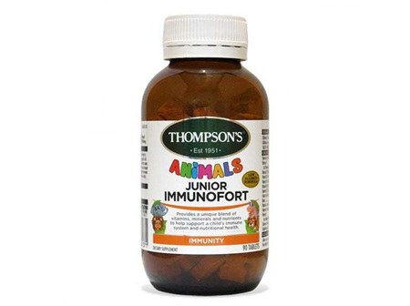 Thompson's Junior Immunofort 90 tablets