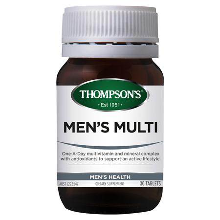 THOMPSONS Men Multi 30tabs