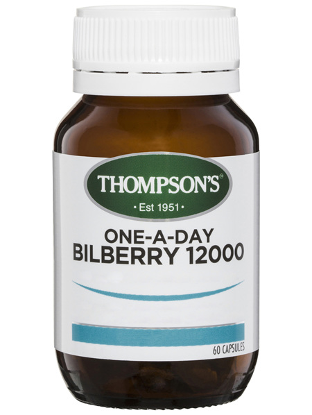 Thompson's One-A-Day Bilberry 12000mg 60 caps