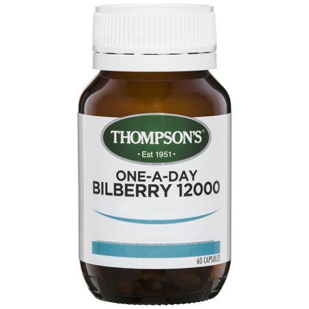 Thompson's One-A-Day Bilberry 12000mg 60 Capsules