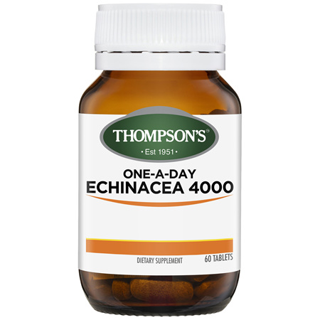 THOMPSONS One-A-Day Echinacea 4000 60tabs