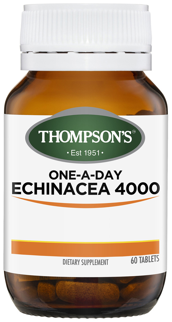 Thompson's One-A-day Echinacea 4000mg 60 Tablets