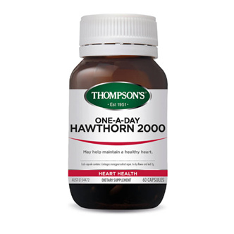 THOMPSONS One-A-Day Hawthorn 30caps