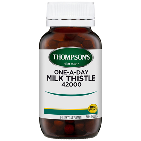 THOMPSONS One-A-Day Milk Thistle 42000 60cap