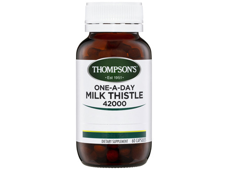 Thompson's One-a-day Milk Thistle 42000mg 60 Caps