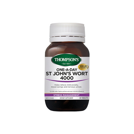 THOMPSONS One-A-Day St Johns Wort 4000 30tab