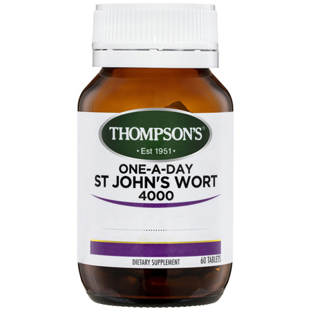 THOMPSONS One-A-Day St Johns Wort 4000 60tab