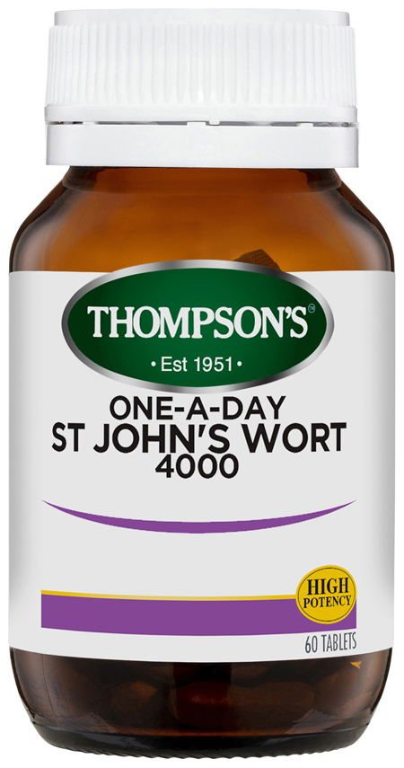 Thompson's One-a-day St John's Wort 4000mg 60 Tabs