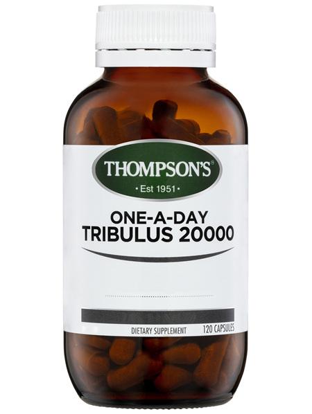 Thompson's One-a-day Tribulus 20000mg 120 Vegi-Caps