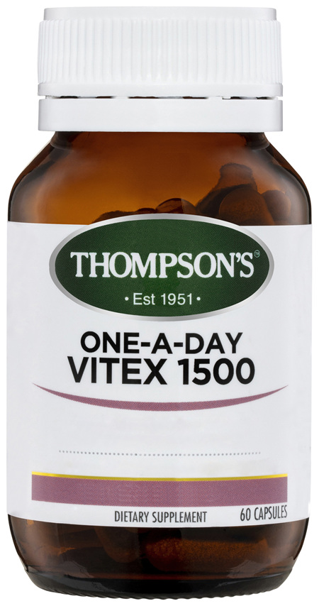 Thompson's One-a-day Vitex 1500mg 60 caps