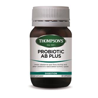 THOMPSONS Probiotic AB Plus 30Cap