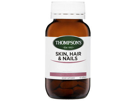 Thompson's Skin, Hair & Nails Capsules 45 caps