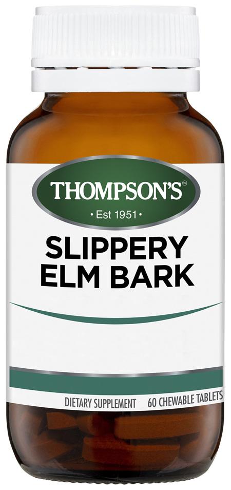 Thompson's Slippery Elm Bark 800mg 60 Tablets