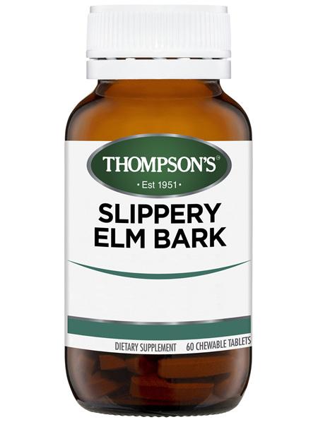 Thompson's Slippery Elm Bark 800mg 60 tabs