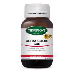 THOMPSONS Ultra CoQ10 300 30tabs