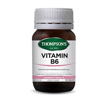 THOMPSONS Vitamin B6 100tabs