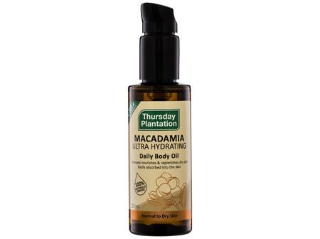 Thursday Plantation Macadamia Ultra Hydrating Daily Body Oil 125mL