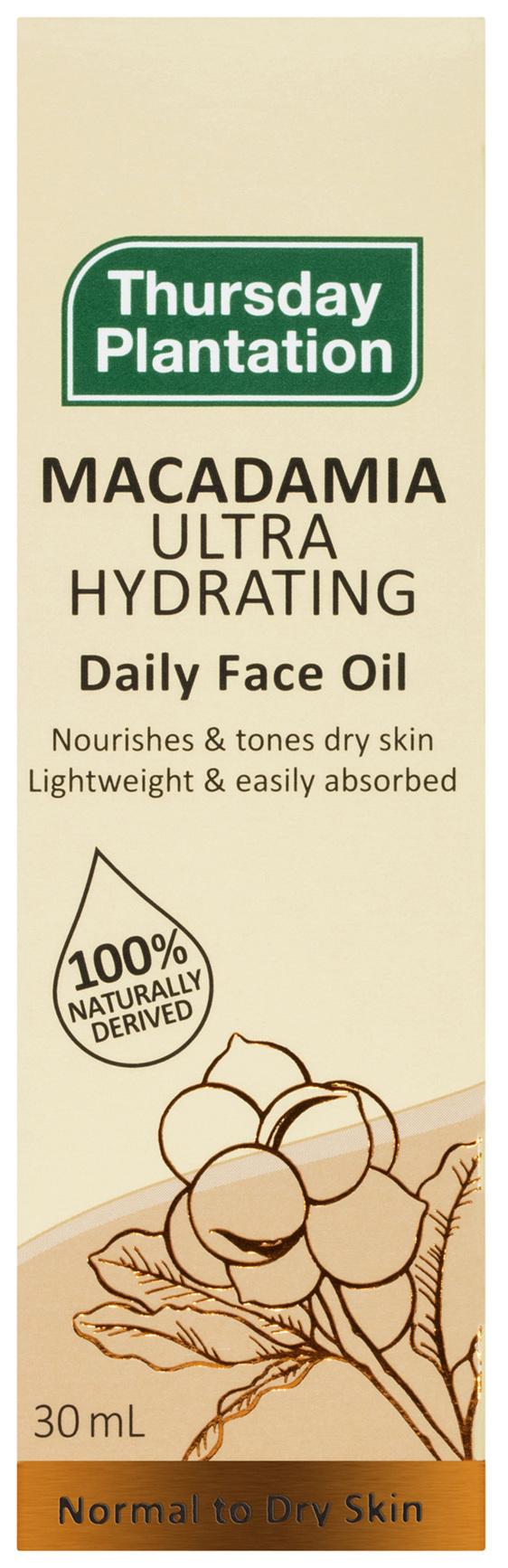 Thursday Plantation Macadamia Ultra Hydrating Daily Face Oil 30mL