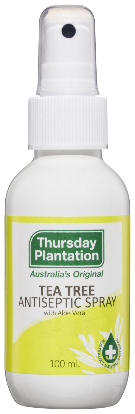 Thursday Plantation Tea Tree Antiseptic Spray With Aloe Vera 100mL