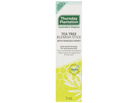 Thursday Plantation Tea Tree Blemish Stick With Manuka Honey 7mL