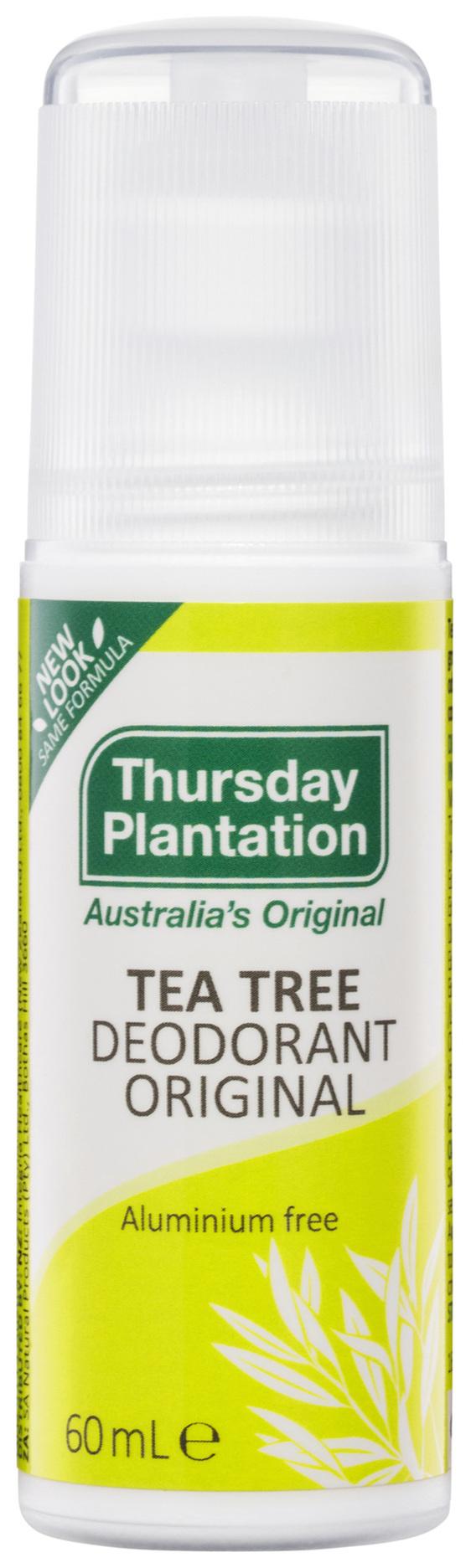 Thursday Plantation Tea Tree Deodorant Original 60mL