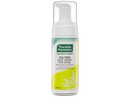 Thursday Plantation Tea Tree Face Wash for Acne 150mL