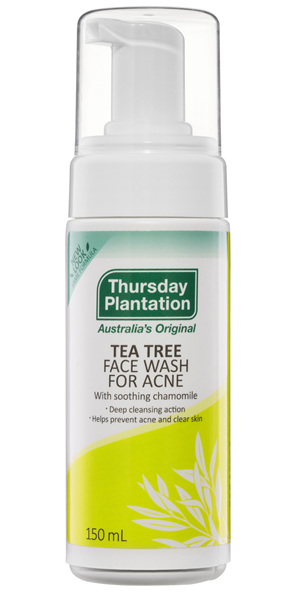 Thursday Plantation Tea Tree Face Wash for Acne 150mL