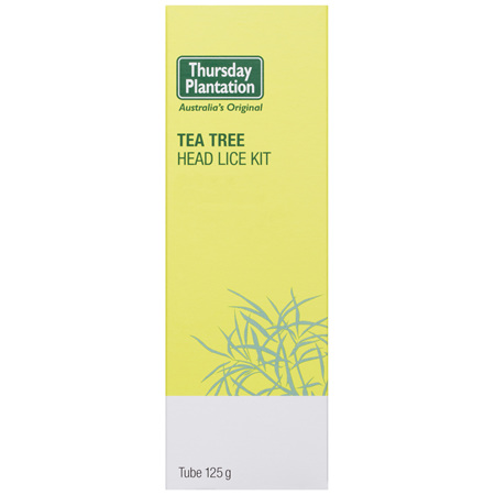 Thursday Plantation Tea Tree Head Lice Kit 125g