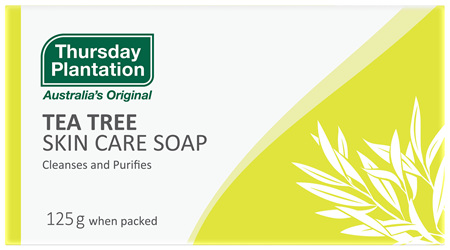 Thursday Plantation Tea Tree Skin Care Soap 125g