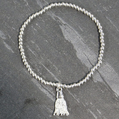 Tilly Tassel Bracelet - Silver
