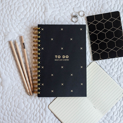 To Do Notebook - Black