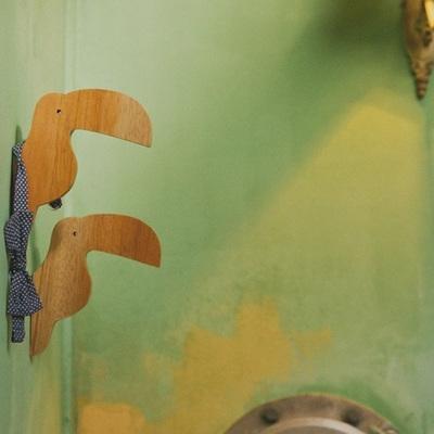 Toucan Wooden Wall Hook