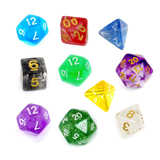 'Translucent' Polyhedral Dice