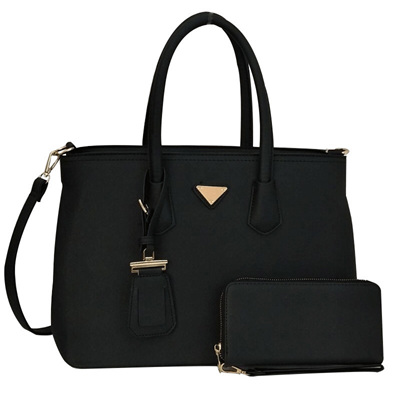 Trend Tag Tote Bag - Black