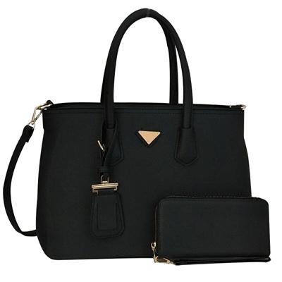 Trend Tag Tote Bag - Black