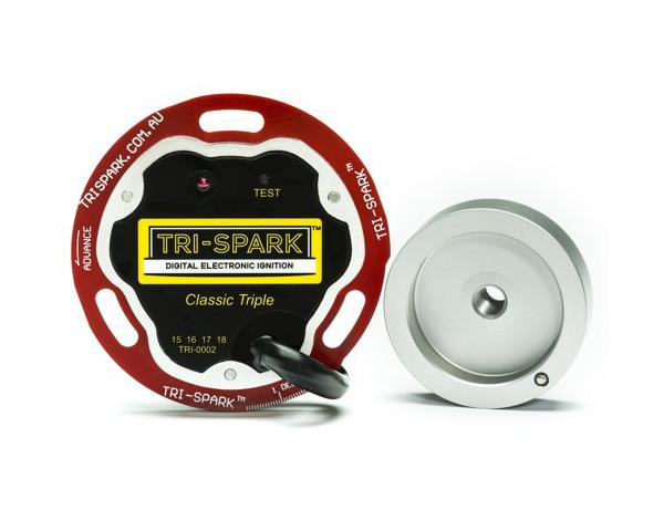 "TRI-0002 Tri-Spark ""Classic Triple"" Electronic Ignition Kit - Trispark System NZ"
