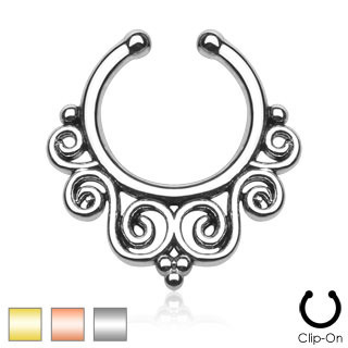 Tribal Faux Septum Ring