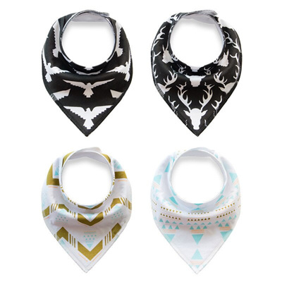 Tribal Pattern Bandana Bibs