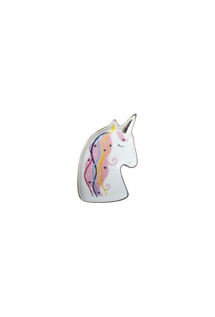 Trinket Plate Unicorn